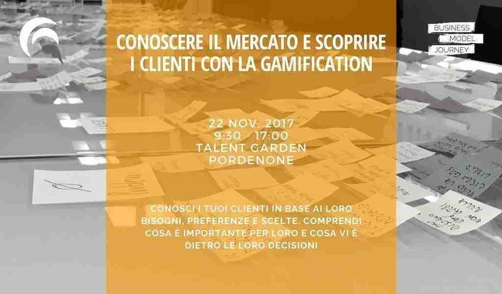 Corso Conoscere i Clienti con la Gamification
