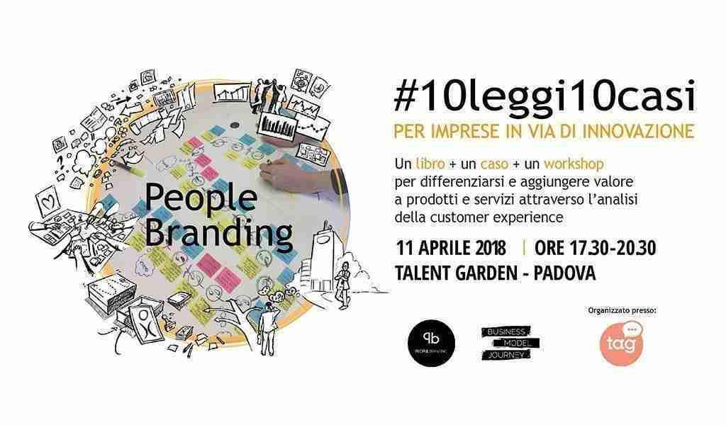Presentazione Libro People Branding aprile 2018 Talent Garden Padova