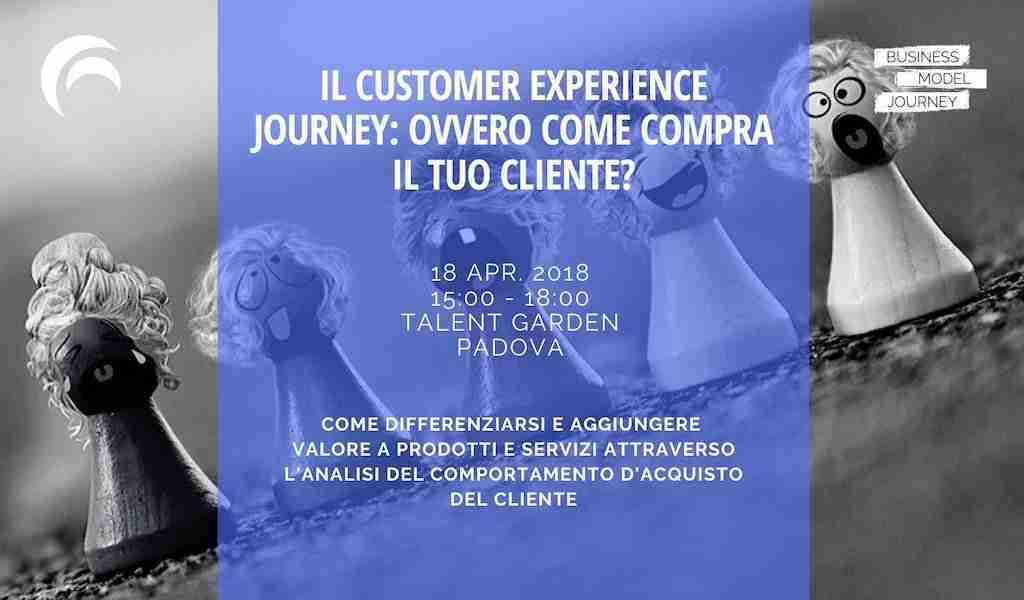 Workshop Customer Experience Journey Talent Garden Padova