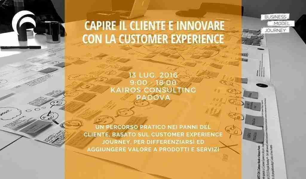 Corso Customer Experience 2016