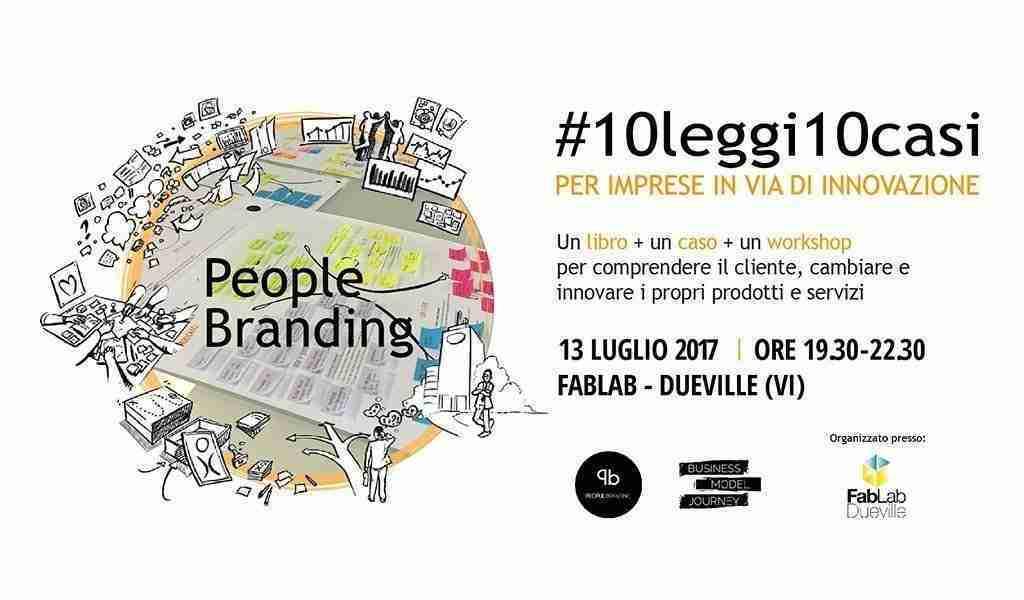 Presentazione Libro People Branding luglio 2017 FabLab Vicenza