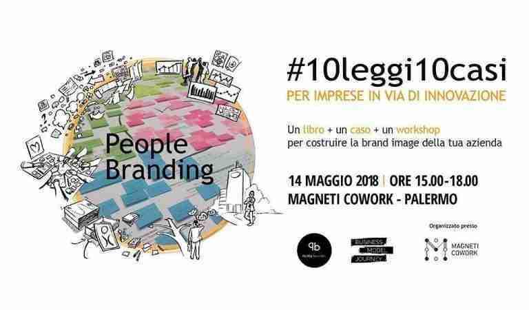 Presentazione Libro People Branding maggio 2018 Magneti Cowork Palermo