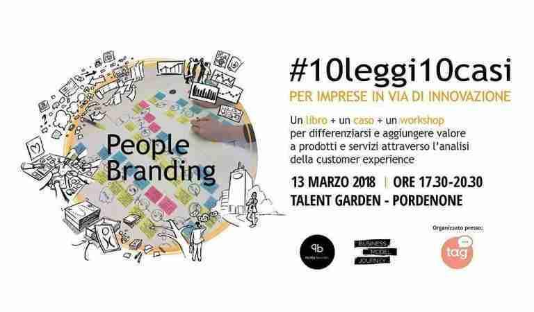 Presentazione Libro People Branding marzo 2018 Talent Garden Pordenone