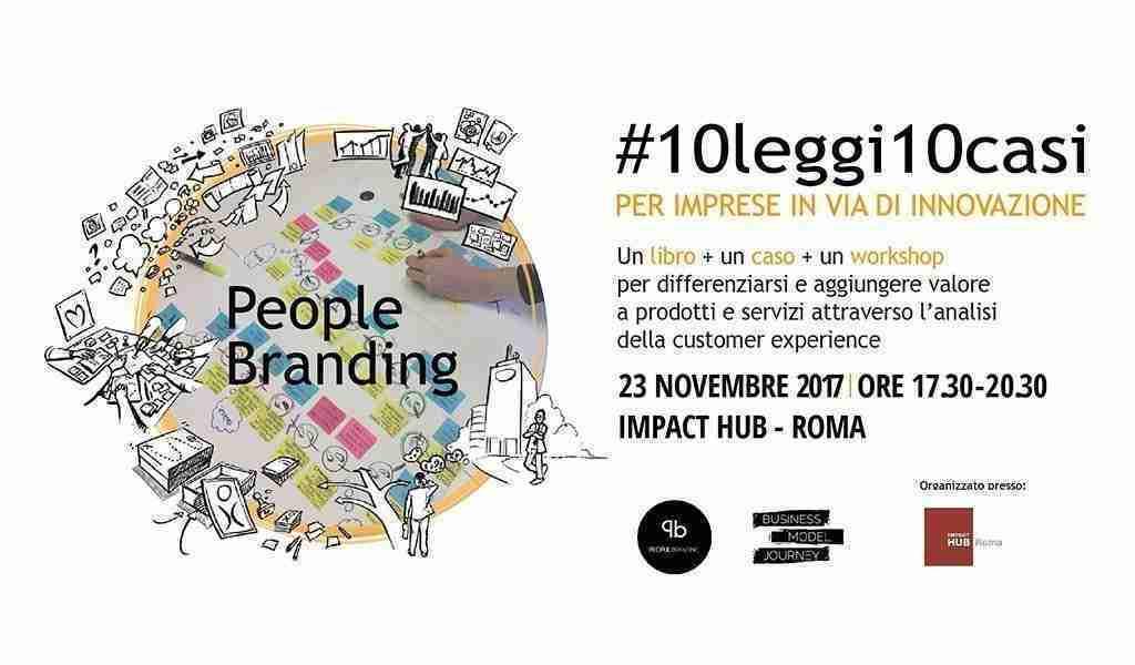 Presentazione Libro People Branding novembre 2017 ImpactHub Roma