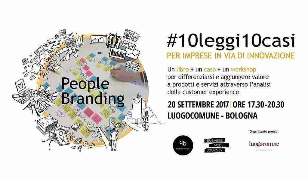 Presentazione Libro People Branding settembre 2017 Luogocomune Bologna